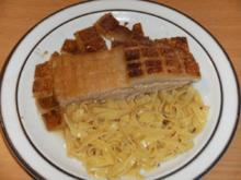 Fleisch: Schweinsgoder oder Göderl, oder schlicht Schweinekinn - Rezept