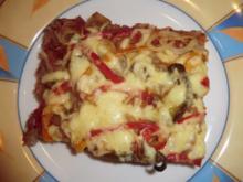 &#9829 Hackfleisch-Pizza &#9829 - Rezept