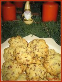Plätzchen - Ameisen-Haselnuss-Cookies - Rezept
