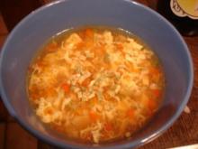 Gemüsesuppe leicht sauer-scharf - Rezept