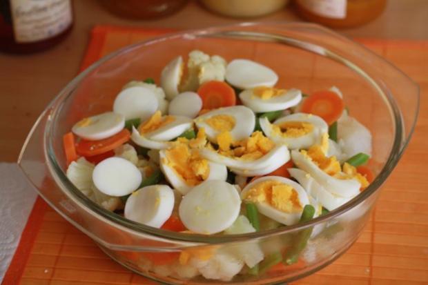 Bunter Gemüse-Ei-Auflauf - Rezept - Bild Nr. 2