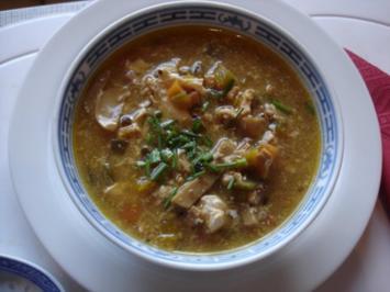 Chinesische Suppe à la Papa - Rezept
