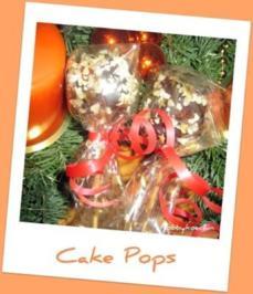 Cake Pops - Gebäckkugeln am Stiel - Rezept