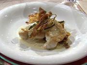 Seeteufel, Gemüse, Kartoffeln à la Henssler - Rezept