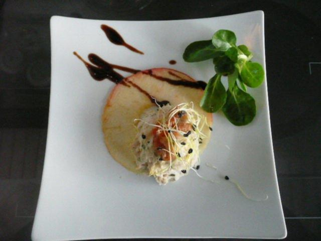 Tapas / Fisch: Forellentatar - Rezept mit Bild - kochbar.de