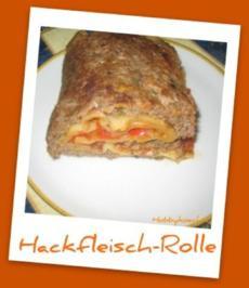 Hackfleischrolle - Rezept