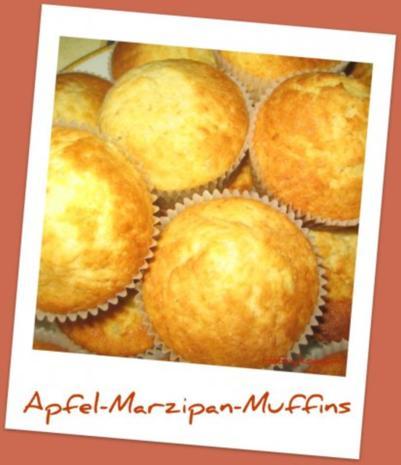 Marzipan muffins rezept