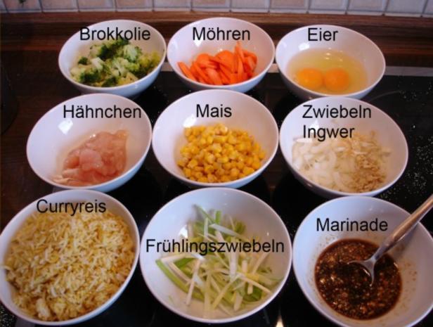 Chinesischer Currybratreis - Rezept - Bild Nr. 2