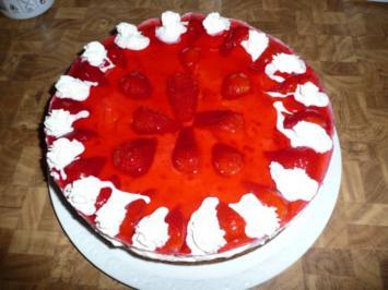 Erdbeere-Quark-Torte - Rezept