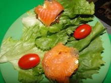 Forellenfilet gebeizt (Idee hatte ich von Lakritzschneggsche) bei mir asiatisch angehaucht - Rezept