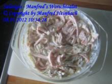 Salatiges – Manfred's Worschtsalat - Rezept