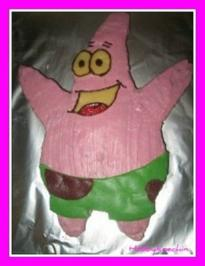 Rezept: Motivkuchen - Patrick - Schwammkopf´s bester Freund