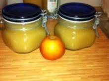 Apfelmus mit Zitrone Quitte und Änisstern - Rezept