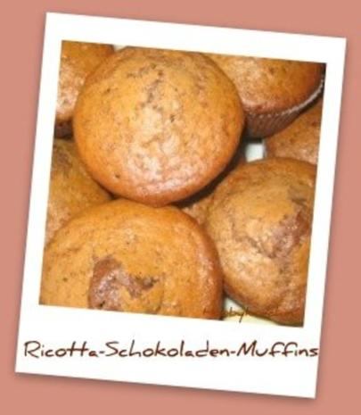 Muffins - Ricotta-Schokoladen-Muffins - Rezept