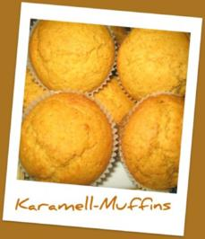 Rezept: Muffins - Karamell-Muffins