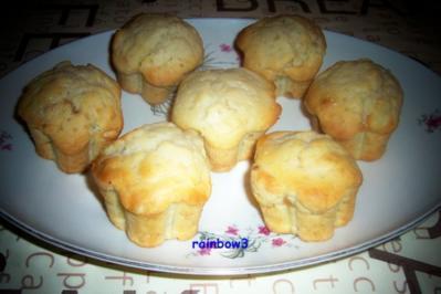 Backen: Zitronige Muffins mit Ingwer - Rezept
