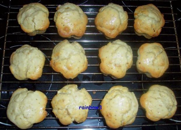 Backen: Zitronige Muffins mit Ingwer - Rezept - Bild Nr. 7