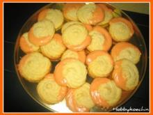 Plätzchen - Orangen-Tuffs - Rezept
