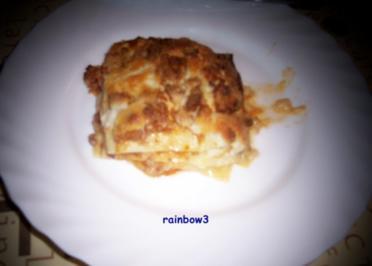 Kochen: Lasagne mit Hackfleisch - Rezept