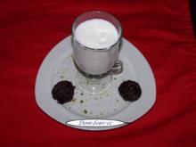 Limettensorbet mit Geldermann Sekt  vermischt - Rezept