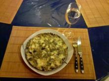 Eier: Käse-Aubergine-Omelett â la Gudrun - Rezept