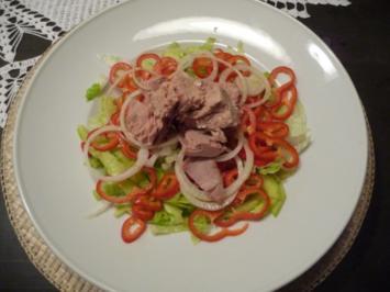 Gemischter salat mit dressing kalorien