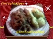 Kotelettsgeschnetzeltes mit Blumenkohl a´la Jörg - Rezept