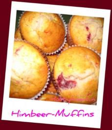 Muffins - Himbeer-Muffins - Rezept