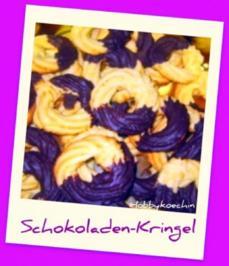 Plätzchen - Schokoladen-Kringel - Rezept