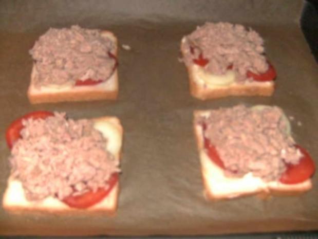 Thunfisch Toast - Rezept