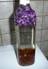 Veilchen-Likör - Rezept