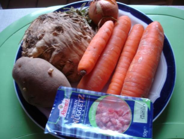 Sellerie-Möhren-Suppe - Rezept - Bild Nr. 2