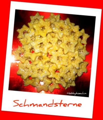 Plätzchen - Schmandsterne - Rezept