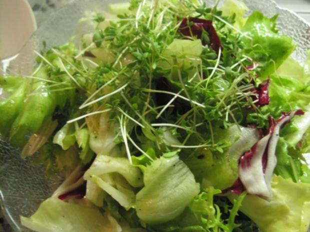 Schweinefilet mit Steinpilzen und Blattsalat - Rezept - Bild Nr. 4
