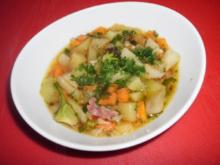 Topinambur-Kartoffel-Suppe - Rezept
