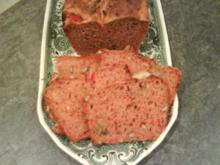 Kastanienbrot  saftig aus Dinkelmehl - Rezept