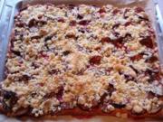 Zwetschgenkuchen mit Streusel II - Rezept