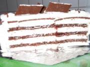 Milchschnitten-Kirsch-Torte - Rezept
