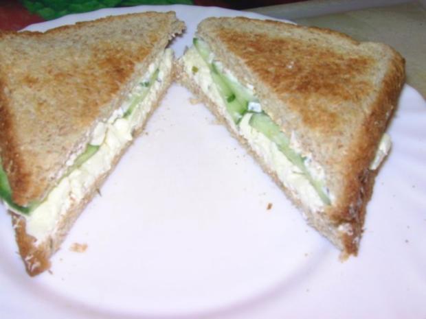 """Sandwich """"Griechenland"""" - Rezept"""