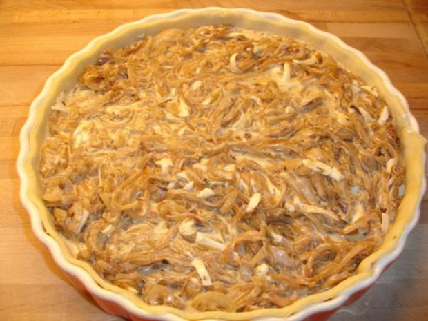 Vegetarischer Zwiebelkuchen - Rezept - Bild Nr. 8