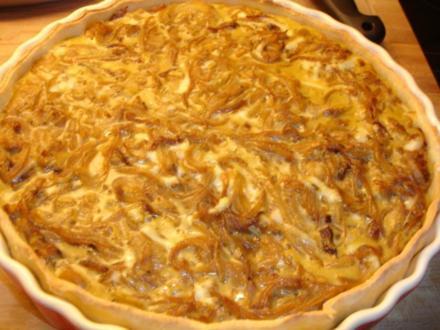 Vegetarischer Zwiebelkuchen - Rezept