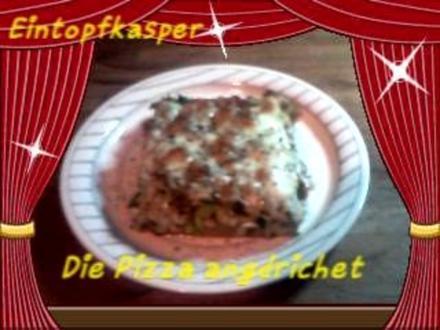 Porree - Stielmus - Mett - Pizza a`la Jörg - Rezept