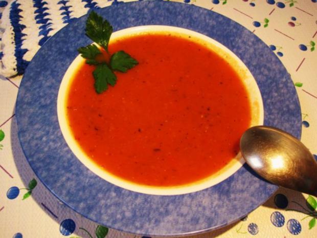 """Tomatensüppchen aus """"frischen"""" Tomaten ... - Rezept - Bild Nr. 7"""