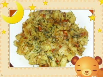 Lauwarmer Bratkartoffelsalat - Rezept