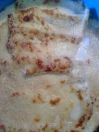 Cannelloni mit Fleischfüllung in Bechamelsauce - Rezept