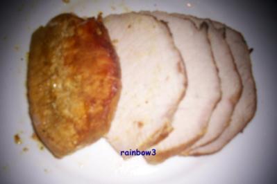 Kochen: Kleiner Schweinebraten mit fruchtiger Sauce - Rezept