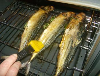 Rezept: Makrele aus dem Backofen