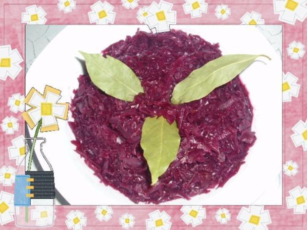 Feiner Apfel-Rotkohl - Rezept