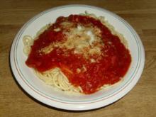 Spaghetti Pomodoro - Rezept