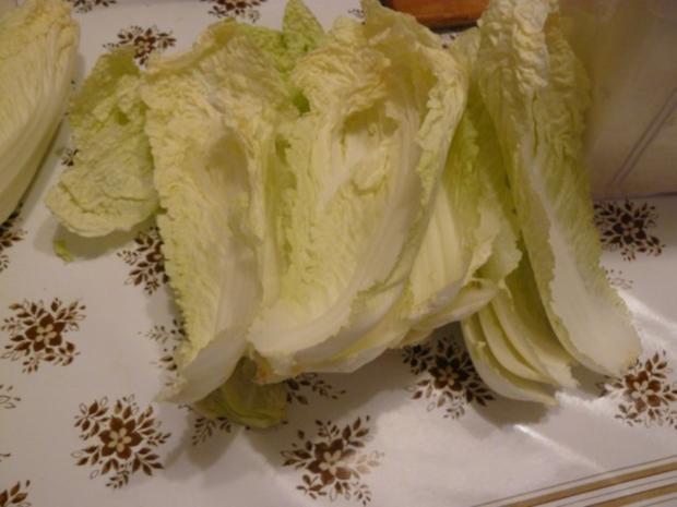 schneller Chinakohlsalat - Rezept - Bild Nr. 3